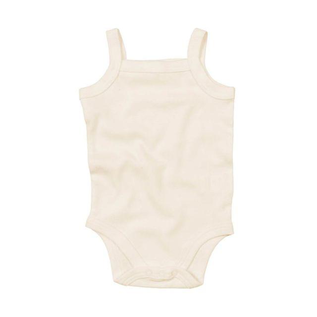 Babybugz - body bébé à bretelles - Bz28 - beige naturel - pas cher ... 9881d5b4f1f