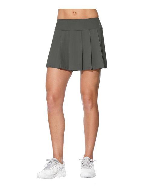 44b60bcac8e0e Asics - W Club Skort Dark Grey Jupe 2 en 1 de running - pas cher Achat    Vente Corsaires, cuissards, shorts - RueDuCommerce
