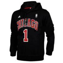 Adidas originals - Sweat Capuche Adidas Nba Chicago Bulls D-rose Noir