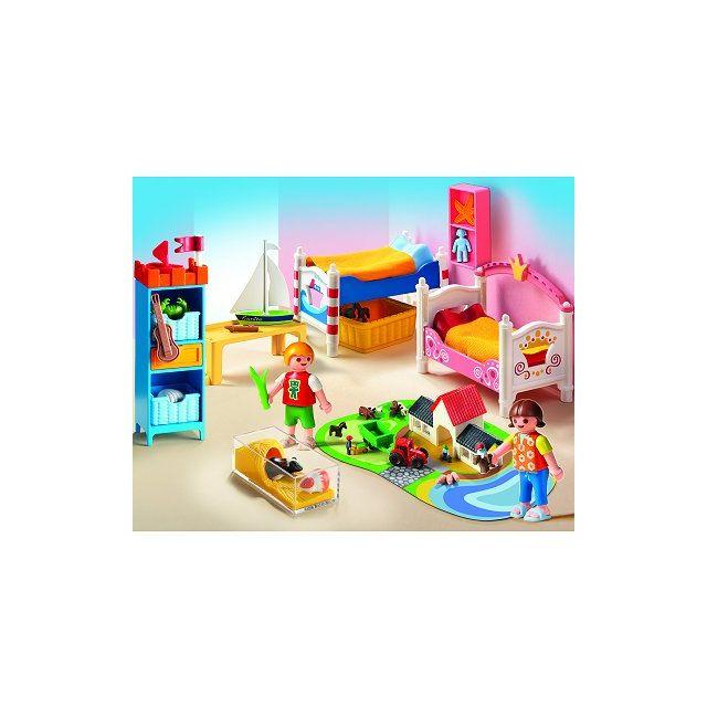 Playmobil 5333 chambre des enfants avec lits d cor s - Playmobil chambre enfant ...