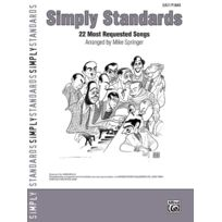 Alfred Music - Partitions Variété, Pop, Rock. Alfred Publishing Simply Standards - Piano Solo Piano