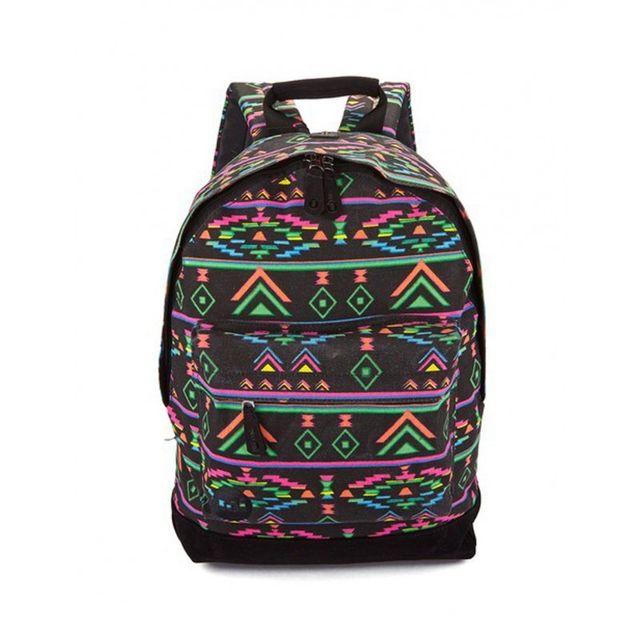 5f17080dcd Mi-pac - Sac À Dos Premium - Aztec Neon Black - pas cher Achat ...