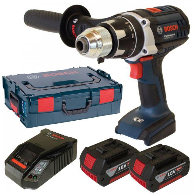 Bosch Professional 06019D9100 Perceuse-visseuse sans fil GSR 18 VE-2-Li