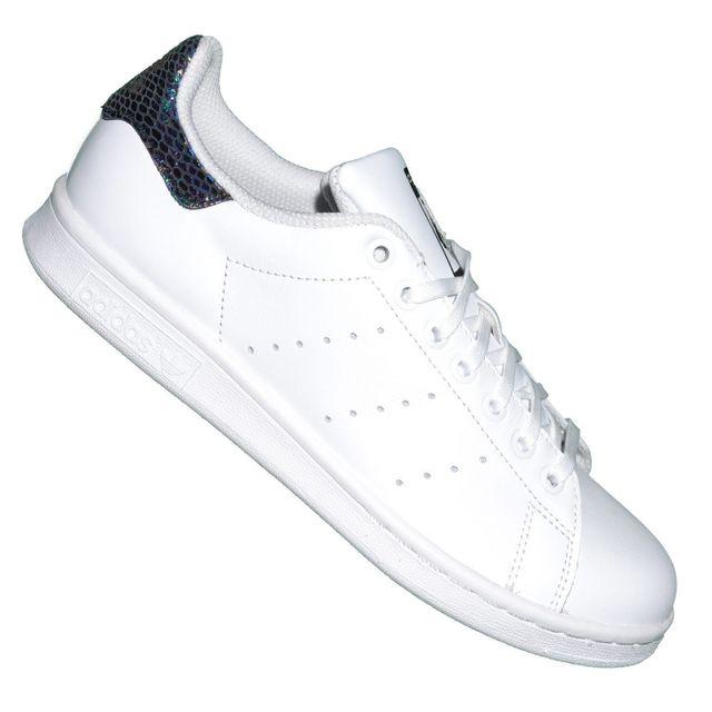 adidas stan smith femme blanche argent