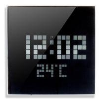 No Name - Picot Horloge a Led Ø24 cm noir et blanc