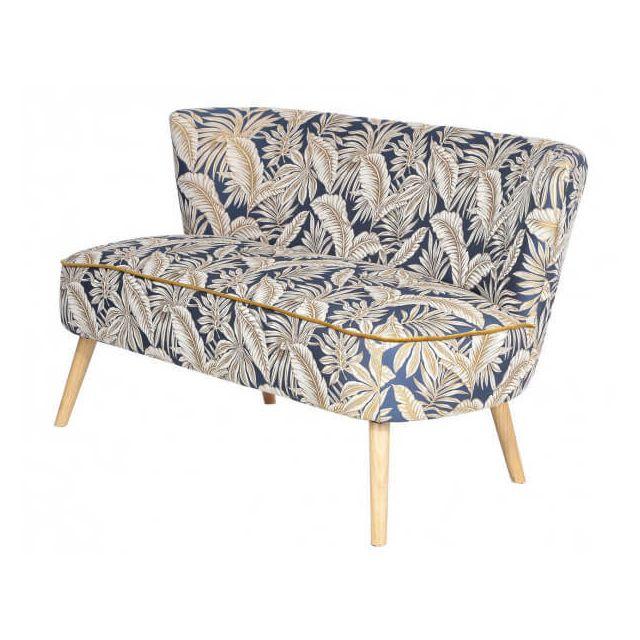 Mathi Design Equateur - Banquette 2 places en tissu