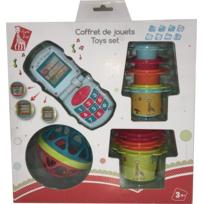VULLI - Sophie la Girafe - Coffret jouets éveil - 516353