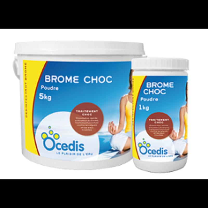 Ocedis - Brome choc poudre - Seau de - 1 kg