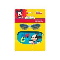 Mickey - Lunettes de soleil Uv3 avec étui 26x19 cms
