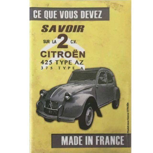 7.9 x 5.4 cm Magnet La DS Citroën