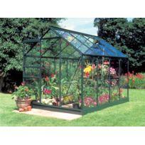 Habitat et Jardin - Serre verre Popular 86 - 5 m² - 2.57 x 1.93 x 1.95 m