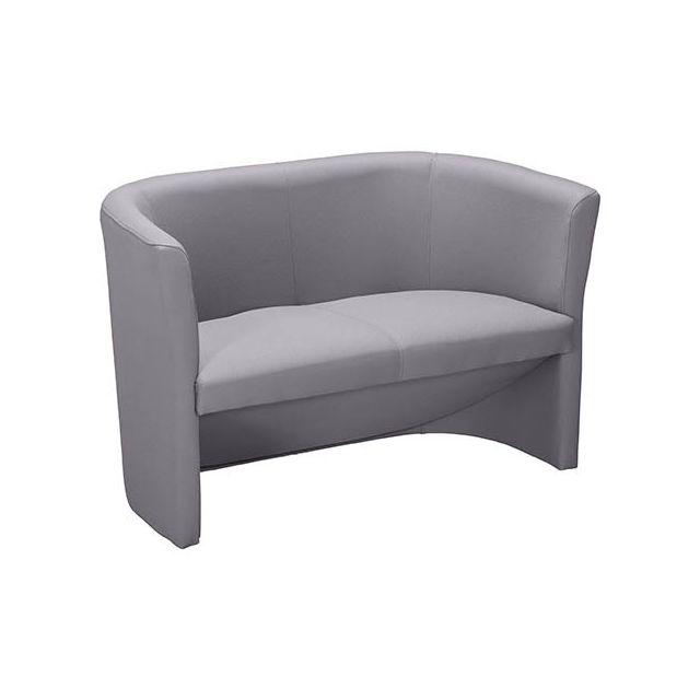 Canapé Tabby tissu classique gris