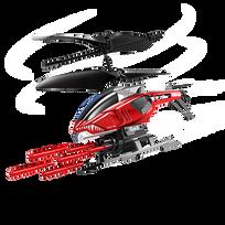 SILVERLIT - Hélicoptère radiocommandé Heli Sniper - 84514