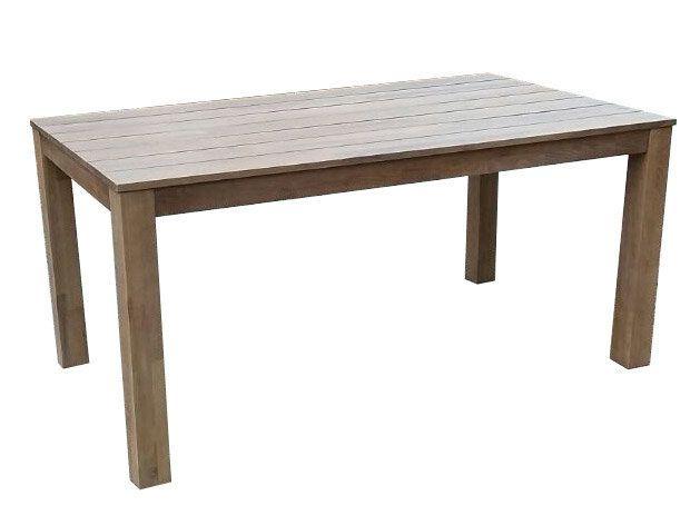 House Bay Table en robinier Fsc pieds droits longueur 160cm Zanzibar