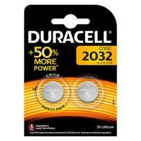 Duracell - Blister 2 piles Lithium Cr2032