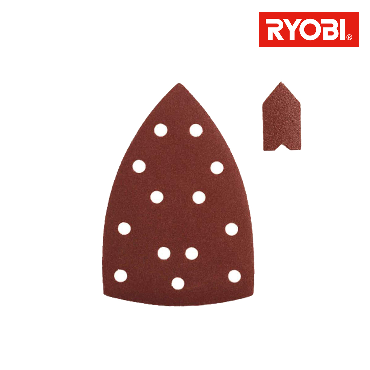Assortiment 20 abrasifs auto-agrippants 149x99mm pour ponceuses triangulaires SPS20A
