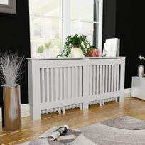 Rocambolesk - Superbe Cache-radiateur Blanc Mdf 172 cm neuf