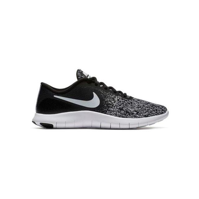 Chaussures Flex Contact noir gris blanc femme