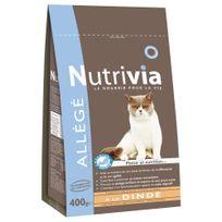Nutrivia - Croquettes Allégées à la Dinde pour Chat - 400g