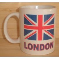 Anglais Uk Mug Blanc London Britannique Drapeau 8PXNn0wOk