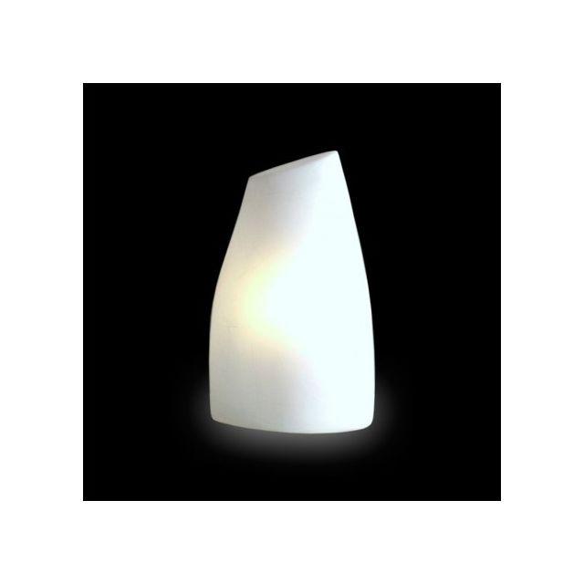 Slide - Lampe de table lumineuse Yes H50 cm - Blanc