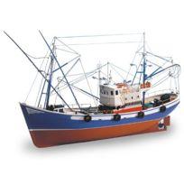 Artesania - Maquette en bois - Carmen Ii : bateau de pêche du Nord de l'Espagne