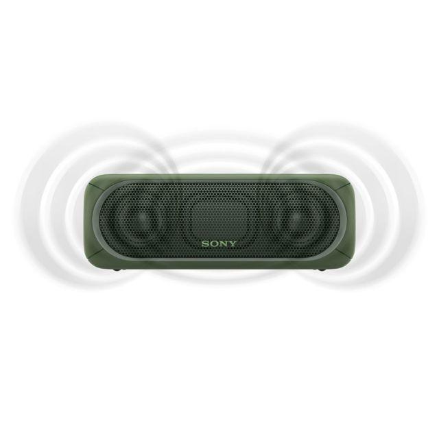 SONY Enceinte bluetooth - SRSXB30BGR - Vert