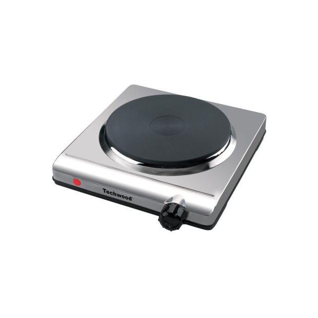 techwood - plaque de cuisson 1 feu 2000w - ref. tpi-107 - pas cher