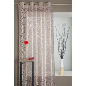 rideaudiscount rideau motif lasercut abstrait 8 illets pas cher achat vente rideaux. Black Bedroom Furniture Sets. Home Design Ideas