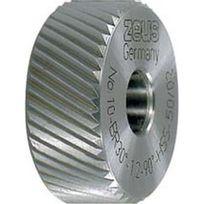 Zeus - Molette, forme Br, hélice à droite 30° Molette d1 x Larg. : b x perçage d2 : 20 x 8 x 6 mm, Graduation 0,6 mm