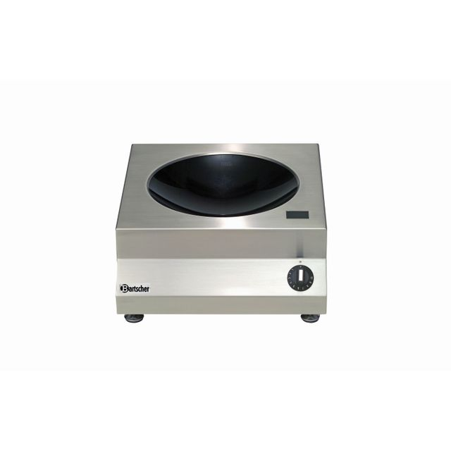 Bartscher Wok a, induction avec 5kW /230 V 50/60 Hz