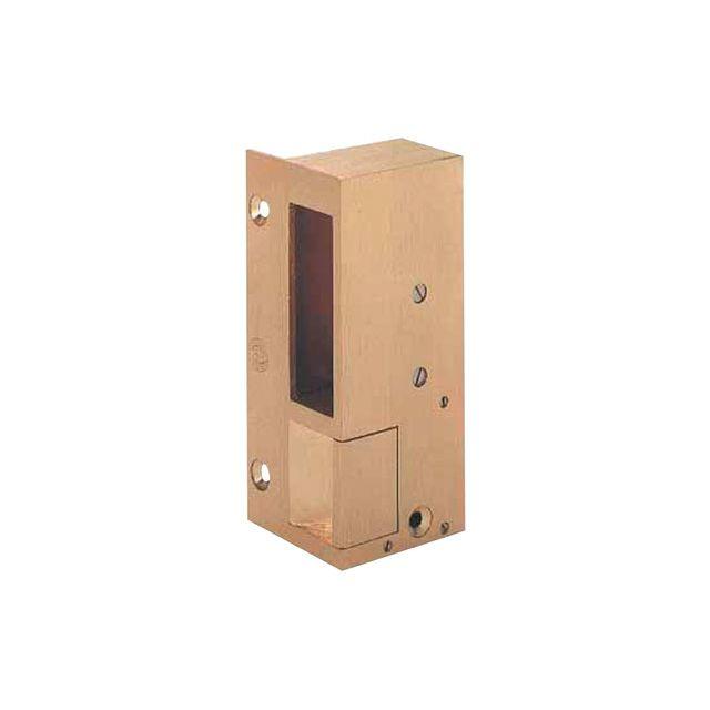 beugnot gache electrique en bronze en applique n 3 pour serrure verticale sens d impulsion. Black Bedroom Furniture Sets. Home Design Ideas