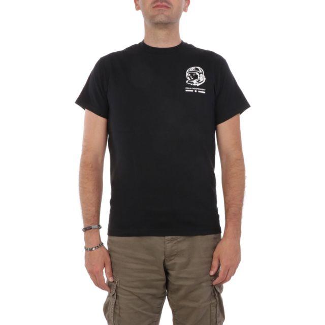 Italia Independent Homme Wmta066009 Noir Coton T-shirt