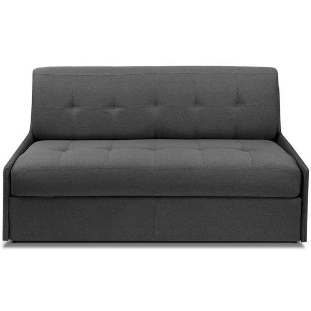 inside 75 canap convertible triomphe matelas 16cm syst me rapido sommier lattes 120cm tissu. Black Bedroom Furniture Sets. Home Design Ideas