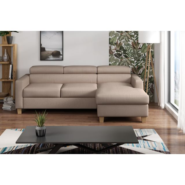 Canapé lit angle gauche Collection élégance
