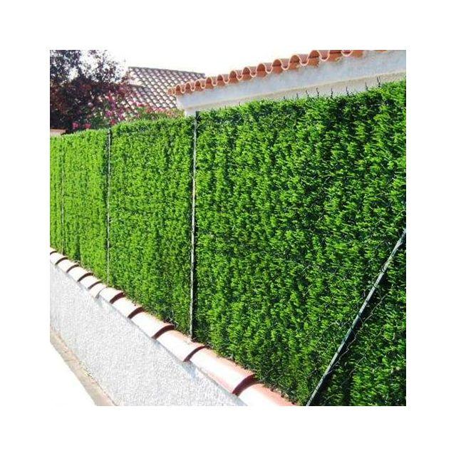 jardin artificiel haie artificielle brise vue en rouleau 1x3 m - Brise Vue Jardin