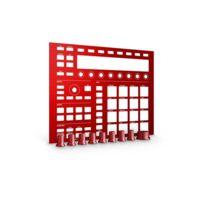 NATIVE INSTRUMENTS - MASCHINE CUSTOM KIT Faceplates Dragon Red