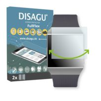 Disagu - Fitbit Ionic Film de protection d'écran - 2 x FullFlex film de protection pour Fitbit Ionic