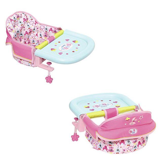 2ae455e9c65a Zapf Creation - Zapf Creation 825235 Baby born - Siège de table pour poupée