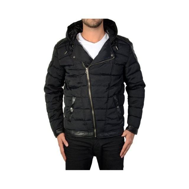62996b388b87 Japan Rags - Doudoune Homme Bend Black - pas cher Achat   Vente Manteau  homme - RueDuCommerce