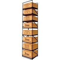 Modulorack - La seule solution pour stocker 8 caisses de vins et 96 bouteilles - Aci-mod510V