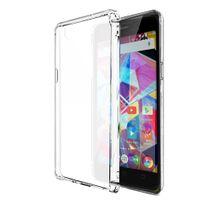 Xeptio - Archos Diamond Plus 4G - Coque Protection arrière clipsable gel Tpu semi transparente smartphone UltimKaz - Accessoires pochette