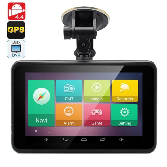 Yonis Gps Android 7 Pouces Tactile Camera Dvr Dash Cam Hd 720P Wifi Voiture