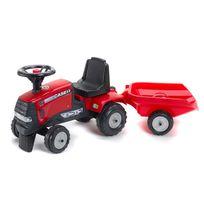 Falk / Falquet - Tracteur Case Ih Cvx 120 + Remorque (sans pédales)