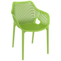 Chaise verte de jardin - catalogue 2019 - [RueDuCommerce - Carrefour]
