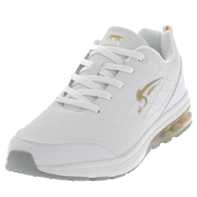 Airness Chaussures mode ville Bayu blanc or air h Blanc