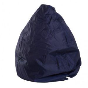 Mobili rebecca pouf poire fauteuil bleu fonc for Puff arredo