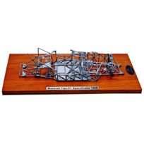 Cmc - M-122 - VÉHICULE Miniature - ModÈLES À L'ÉCHELLE - Maserati Tipo 61 Birdcage - Chassis - Echelle 1/18