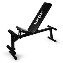 KLARFIT - Banc de Musculation Home Trainer Entraînement