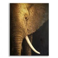 deco soon tableau peinture elephant 2 - Cadre Elephant